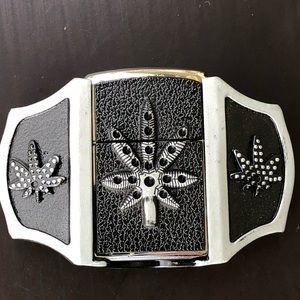 Other - Belt buckle silver high quality men women